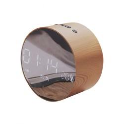 Bluetooth колонка Joyroom JM-R8 (часы , дисплей & зеркало), silver