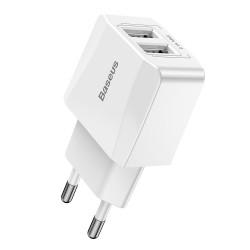 Сетевое зарядное устройство Baseus (CCALL-MN02) (EU) Mini Dual-USB
