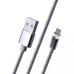 Кабель магнитный Type C USB, Black