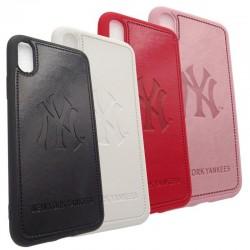 Чехол NY Yankees для Apple iPhone 11 Pro Max, pink