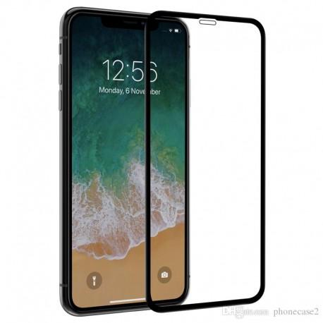 Защитное стекло 5D Apple iPhone XS Max black