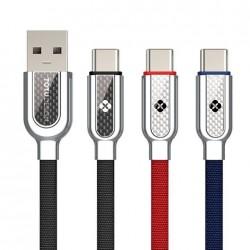Кабель Totu USB Zinc Alloy Type-C, black