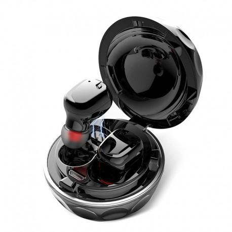 Наушники bluetooth twins jh9105 slim cabinet black