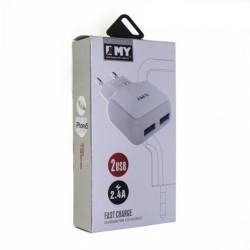 Зарядное Устройство 2,40A EMY MY-220