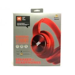 Наушники JBL Bluetooth (T300BY), red