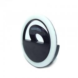 Кольцо для селфи Selfie Ring Light RK-12, white