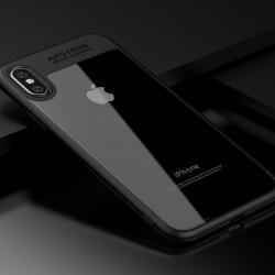 Чехол iPaky Clear iPhone X, black