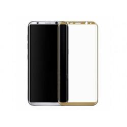 Стекло Samsung G955 Galaxy S8 Plus (0.3 мм, 3D, с олеофобным покрытием) gold