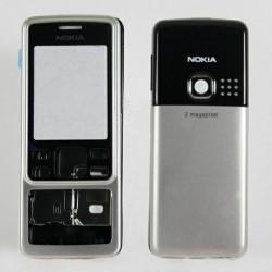 Корпус Nokia 6300, серебристый