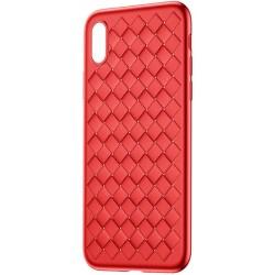 Чехол Baseus BV Weaving  Для iPhone X, red