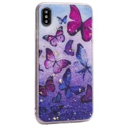 Чехол Shining для Apple iPhone Xs Max, бабочки