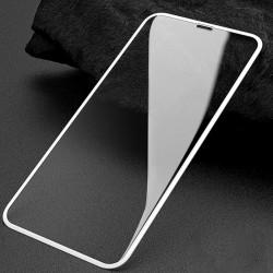 Защитное стекло 5D Apple iPhone XR white